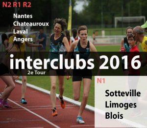 Affiche interclub 2016