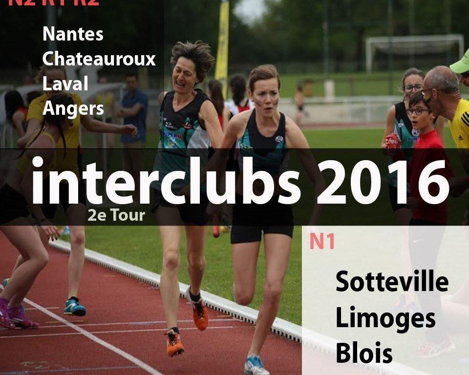 Finales régionales R1 et R2 Interclubs seniors à Angers
