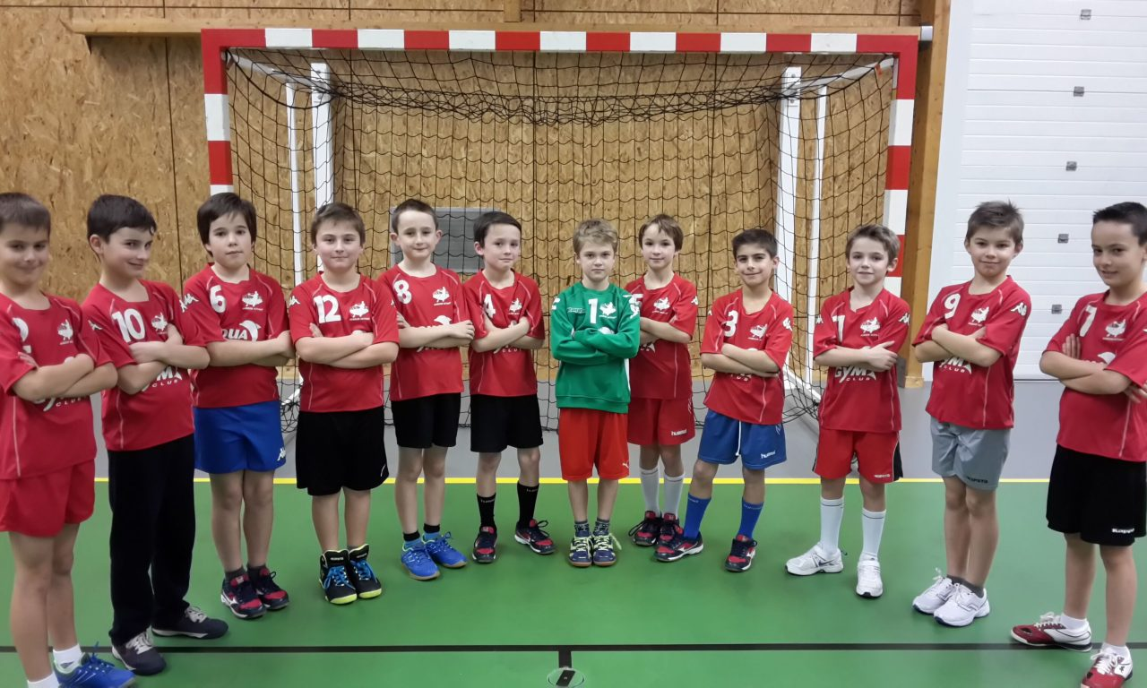 Les – 10 ans d'Angers Noyant HBC, champions départementaux, en Finale de la Coupe de l'Anjou