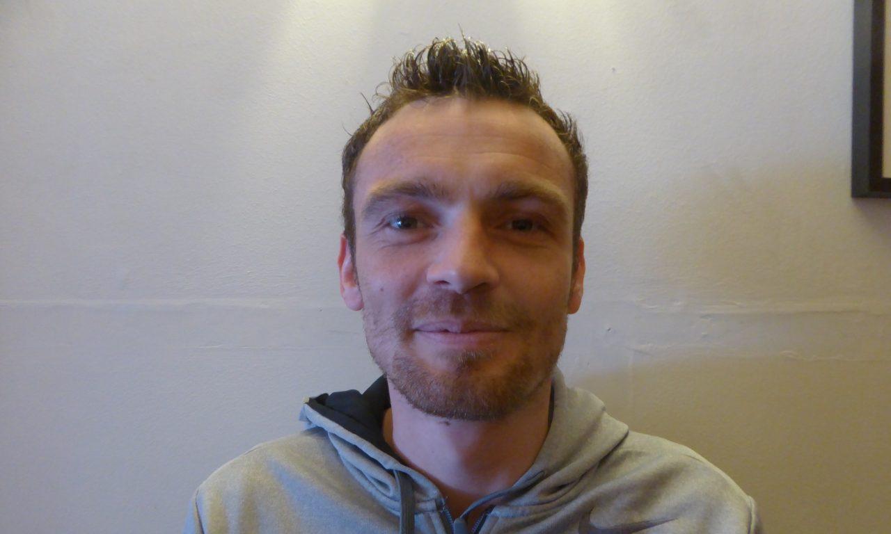 Thibault Leroux, nouvel entraîneur du club de l'Entente Sportive Denée Loire et Louet (D1)