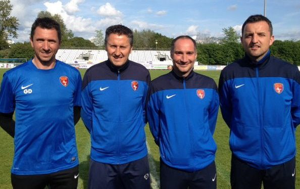 Officialisation du staff de l'Olympique de Saumur FC