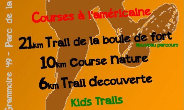 Trails de la Grammoirienne et de la Boule de Fort (Samedi 28 Mai)