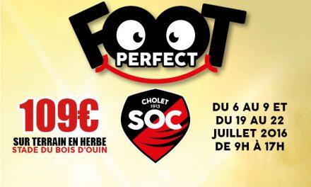 Stage Foot'Perfect Session Eté organisé par le club du SO Cholet