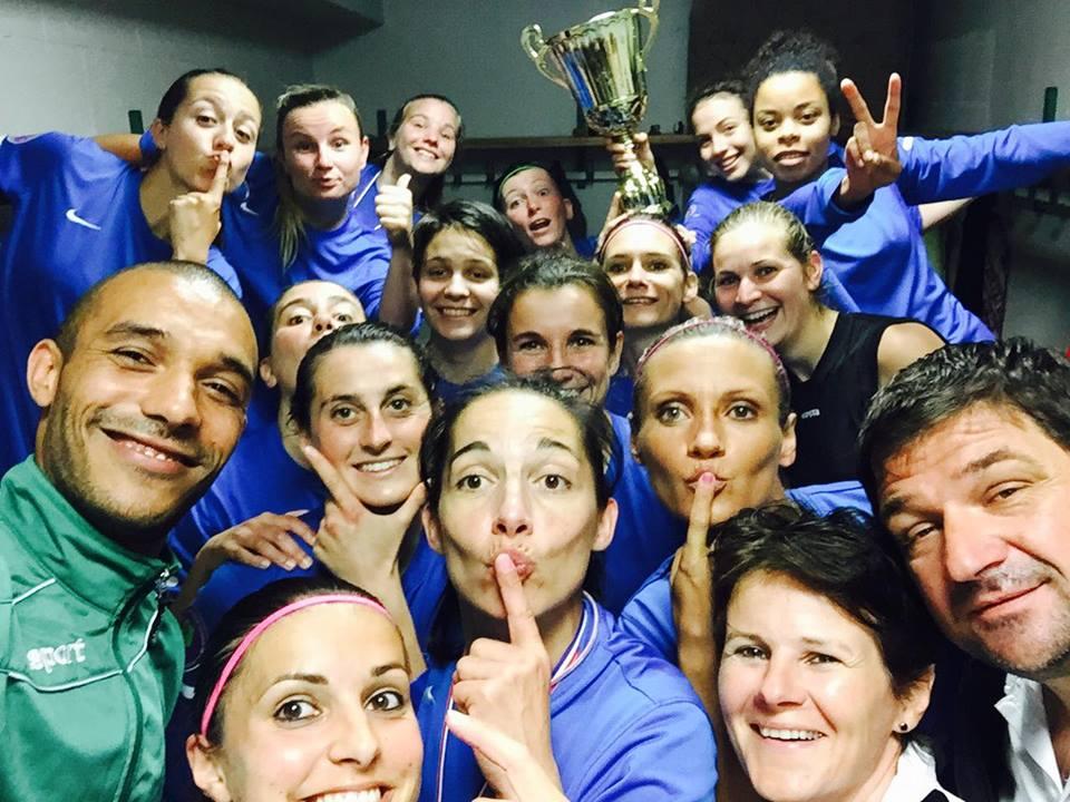 L'équipe des Verchers St Georges sur Layon remporte la coupe de l'Anjou Féminine !