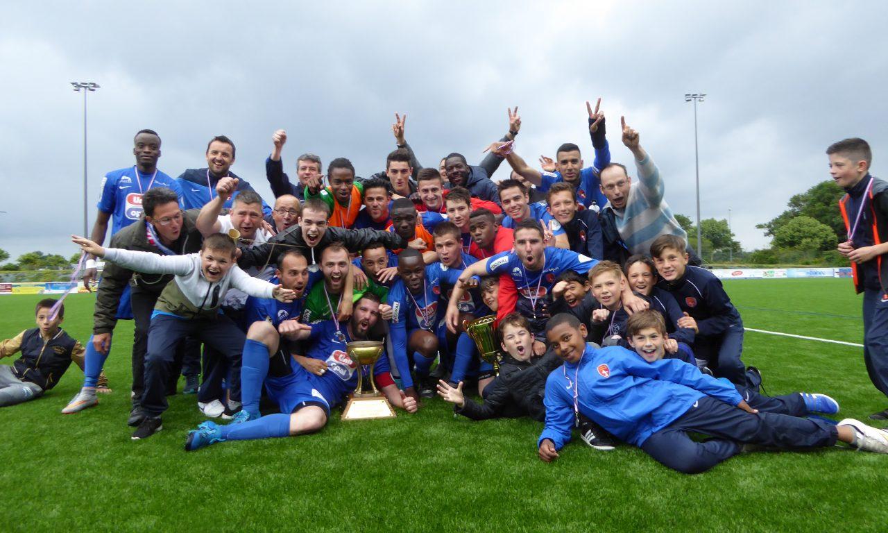 Saumur OFC remporte la coupe de l'Anjou seniors !