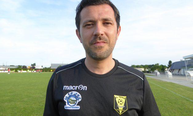 Alban GABORIT : L'ES Bouchemaine est un club intéressant avec un fort potentiel et qu'il y a le moyen de bien travailler.