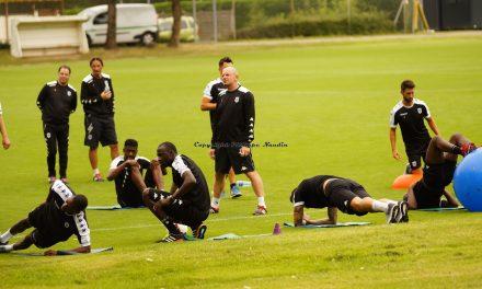 Deuxième journée en photo de la reprise d'entraînement des joueurs d'Angers SCO