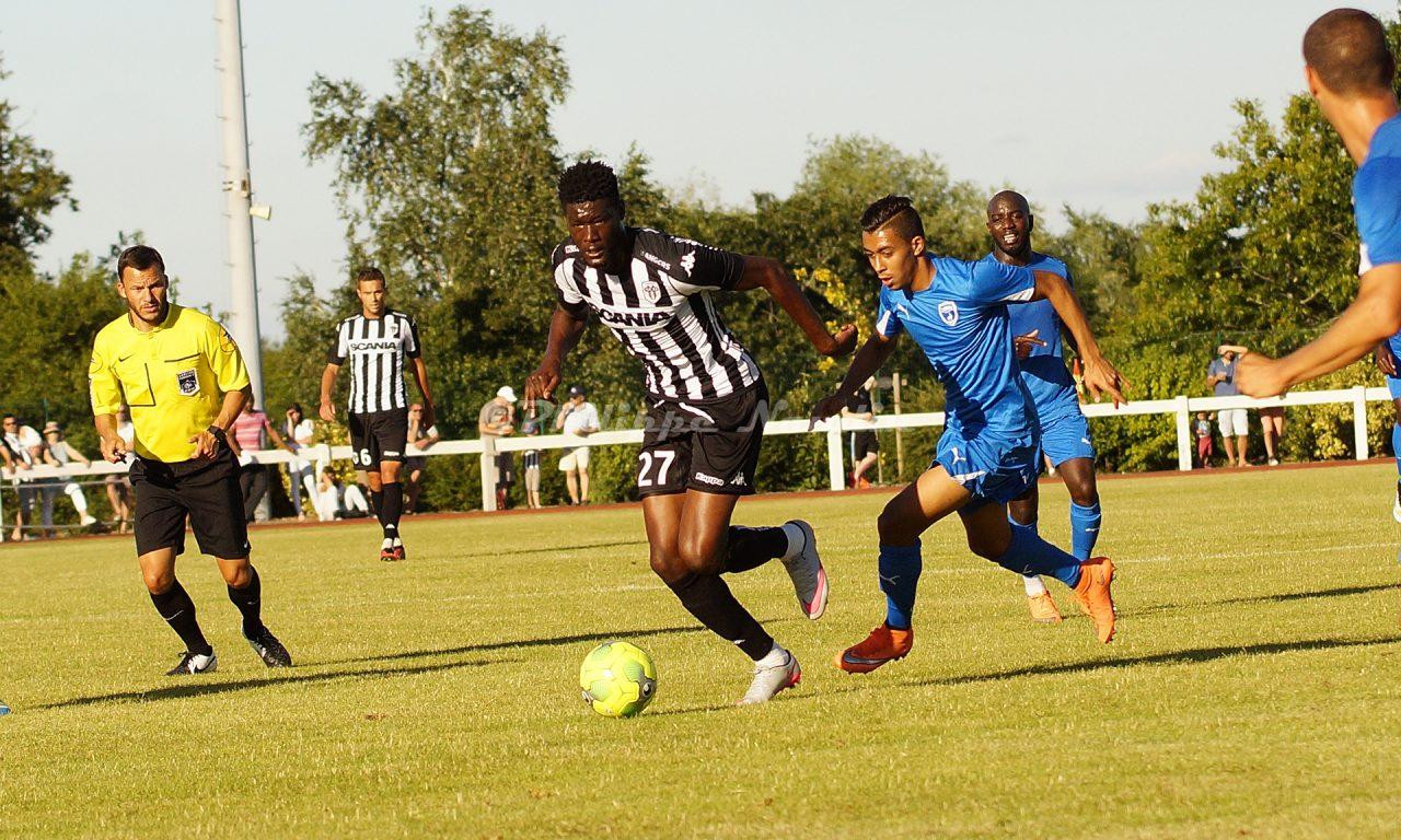 Revivez en photos le match amical : Angers SCO – Niort (0-1)