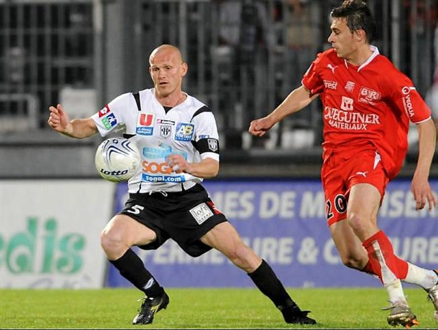 Thierry CYGAN sous les couleurs d'Angers SCO