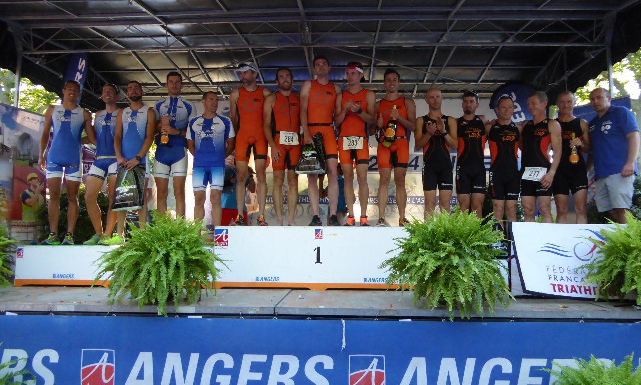 1ère journée du Triathlon d'Angers, Samedi 23 Juillet 2016.