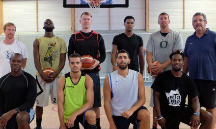 Présentation de l'équipe 1 de l'EO Saint Léonard Basket (NM2).