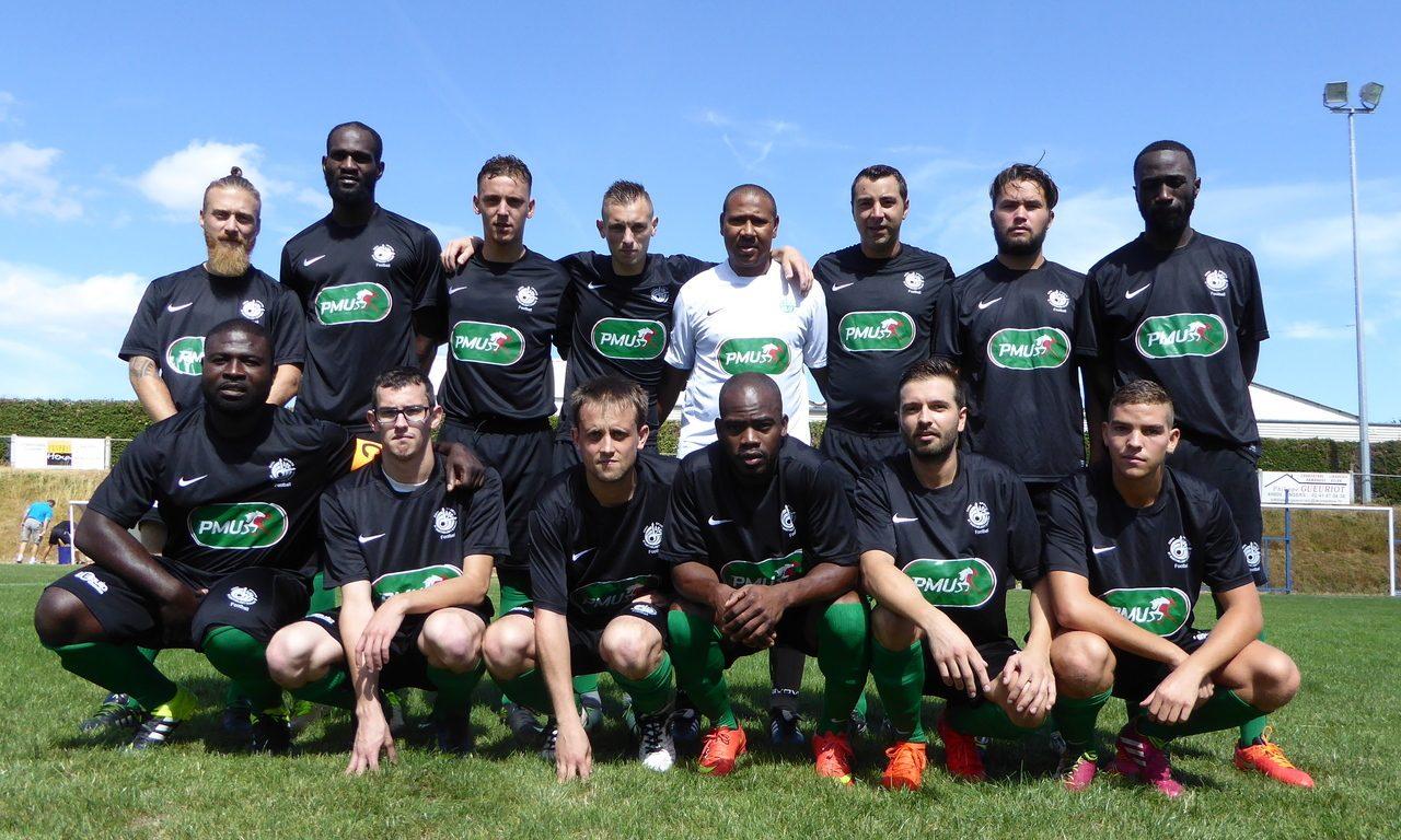 D2 (14e journée) : Carton de Saint-Barthélémy face à Angers Cœur d'Afrique (6-0).