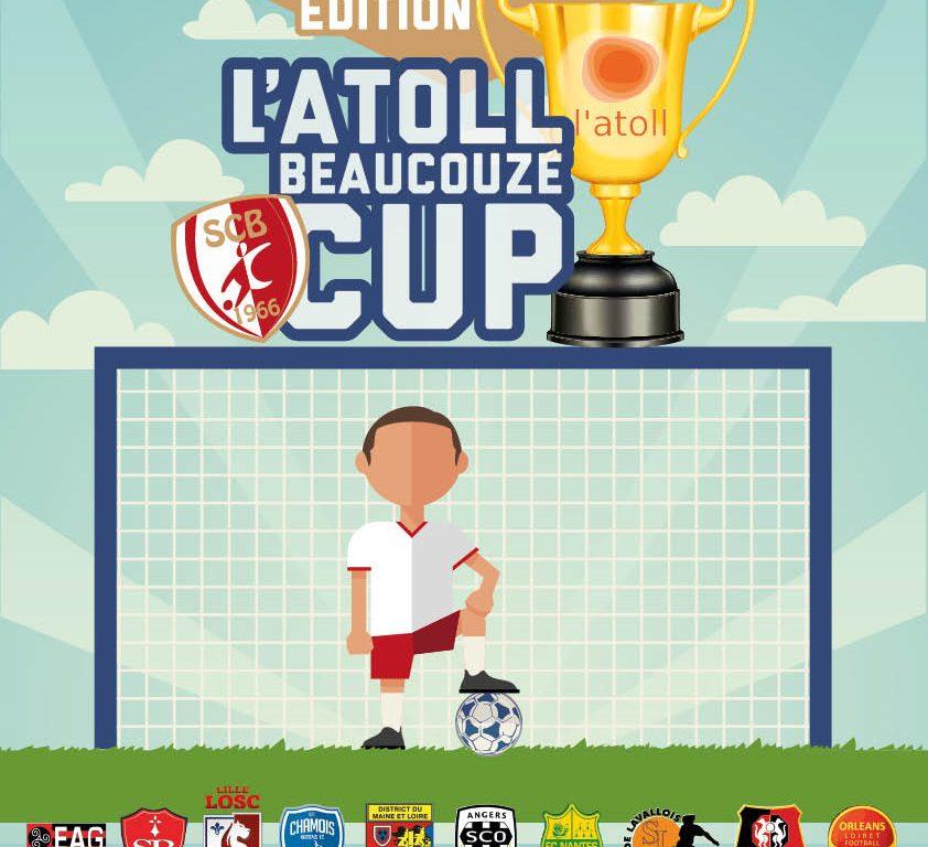 Présentation de la troisième édition de l'Atoll Beaucouzé Cup.