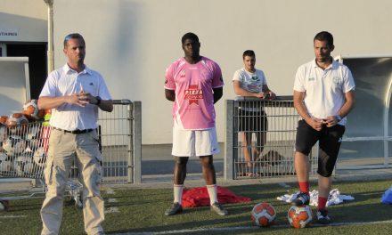C'était la reprise de la saison pour l'effectif seniors d'Angers la Vaillante Football.