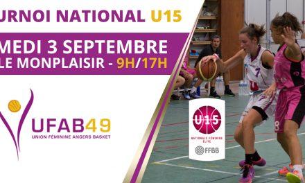 Un plateau relevé au tournoi U15 de l'UFAB 49