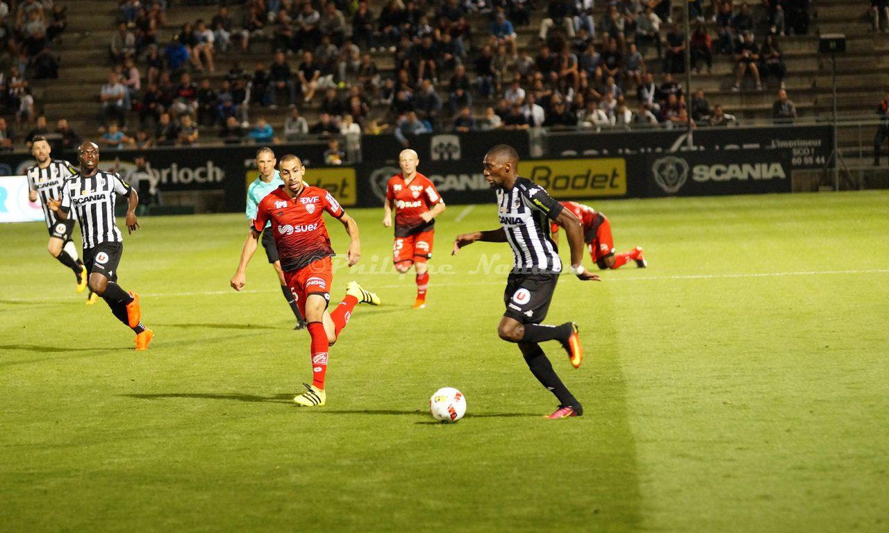 Ligue 1 : Revivez en photos le match : Angers SCO – Dijon FCO (3-1)
