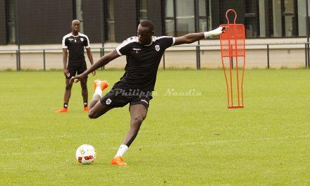 Angers SCO : Photos lors d'un entrainement de cette semaine et portraits des joueurs.