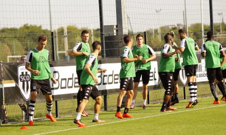 Angers SCO : En exclusivité, les premières photos de Jamel SAIHI à l'entraînement.