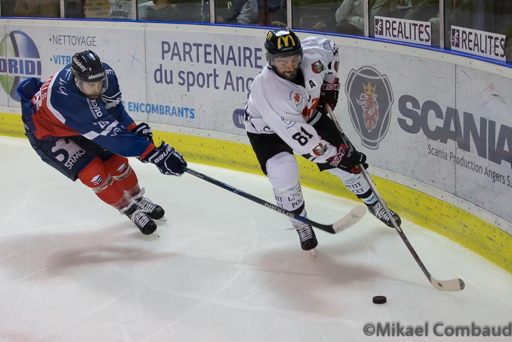 Ligue Magnus : Les Ducs d'Angers remportent leur premier match de la saison face aux Gothiques d'Amiens.