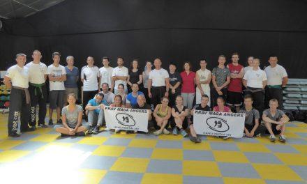 Reportage sur le KRAV MAGA à Angers, lors d'un stage de découverte tout public.