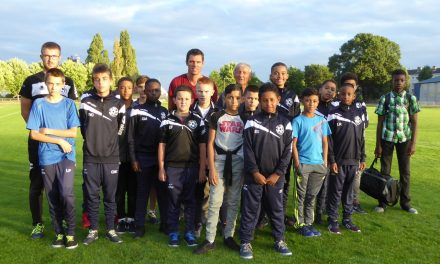 """Le club d'Angers NDC inaugure son académie, dans le cadre du projet """"NDC 2015/2020"""""""