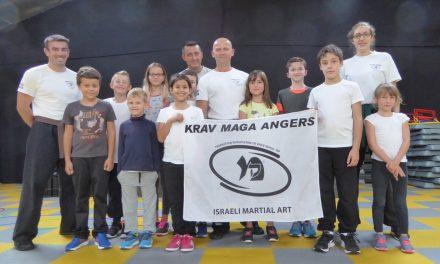 Premier stage découverte de Krav Maga pour enfants à Angers !