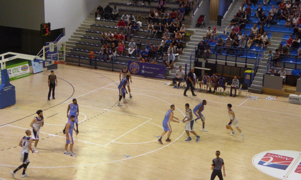 NM1 : Angers BC n'a tenu qu'un quart-temps face à Sorgues…