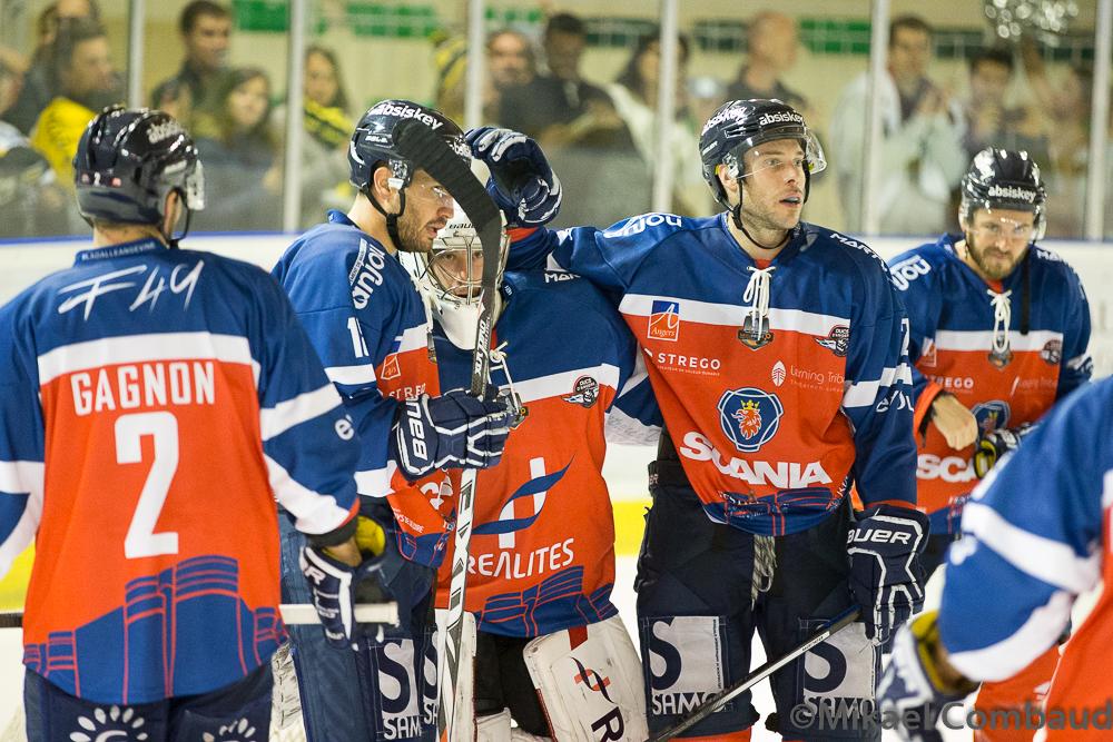 Les Ducs d'Angers s'offrent une éclatante victoire de prestige face au leader Rouennais (6-2).