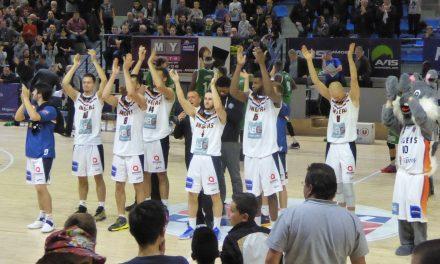 NM1 (9e journée) : Angers Basket Club fait la passe de six en allant battre GET Vosges (81-72).