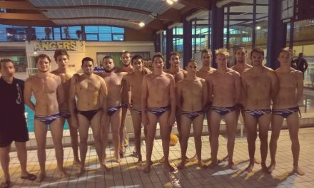 Programme du week-end, des équipes d'Angers Natation Water-polo.