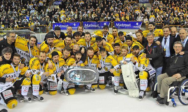 Les Dragons de Rouen vainqueur de l'édition 2015/2016.