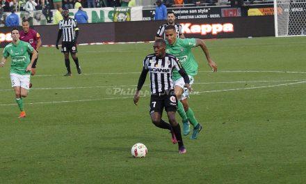 Ligue 1 : Revivez en photos le match : Angers SCO – AS Saint-Etienne (1-2).