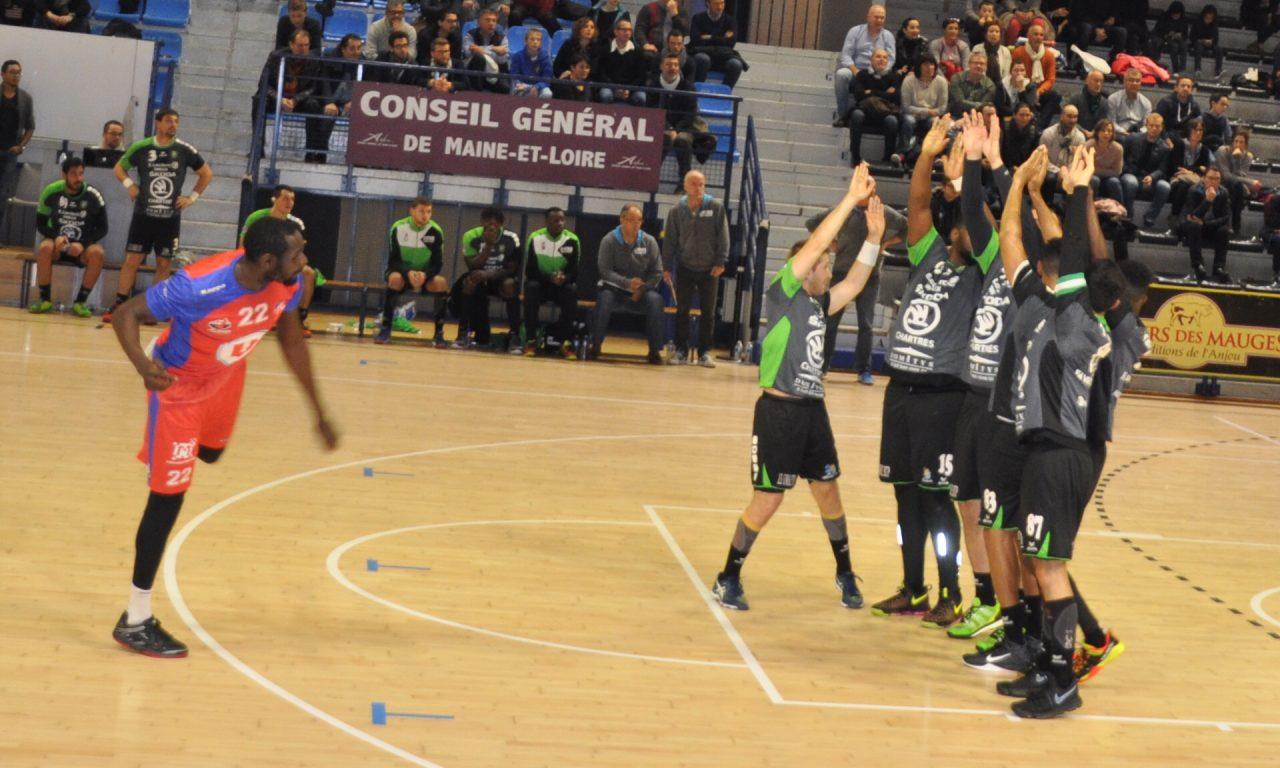 Victoire de prestige pour Angers Noyant Handball Club face à Vernouillet (33-30).