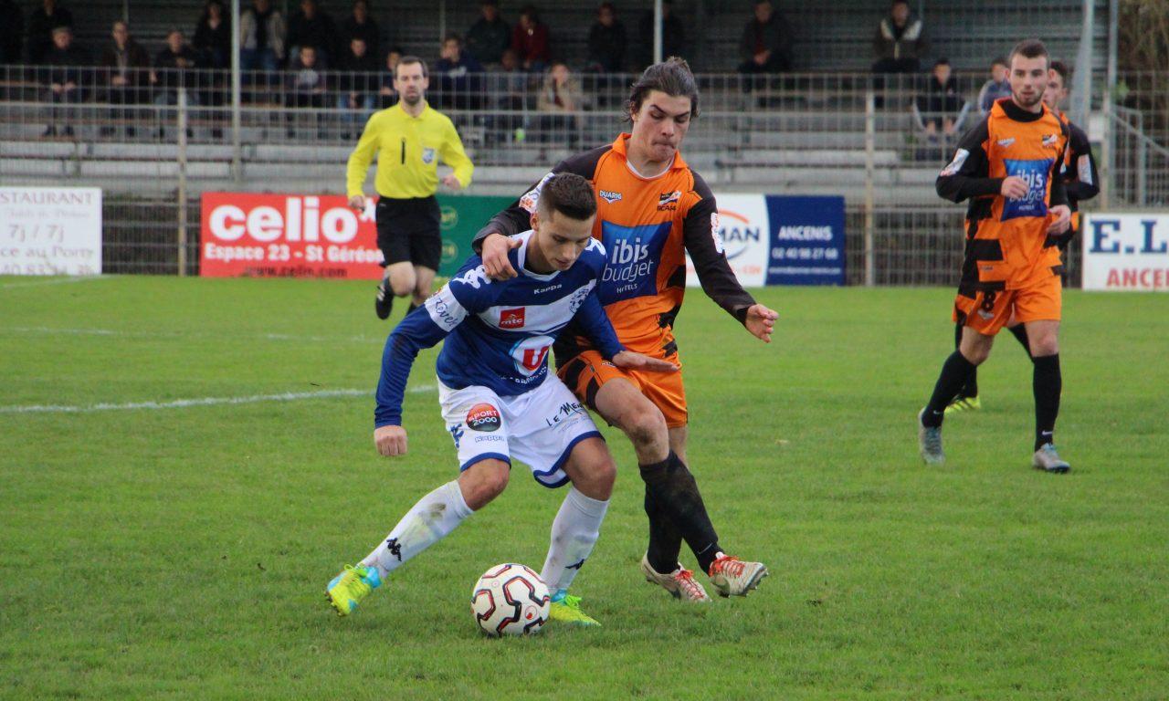 Coupe de l'Atlantique (6 tour) : Belle performance Angers NDC à Ancenis (0-1).