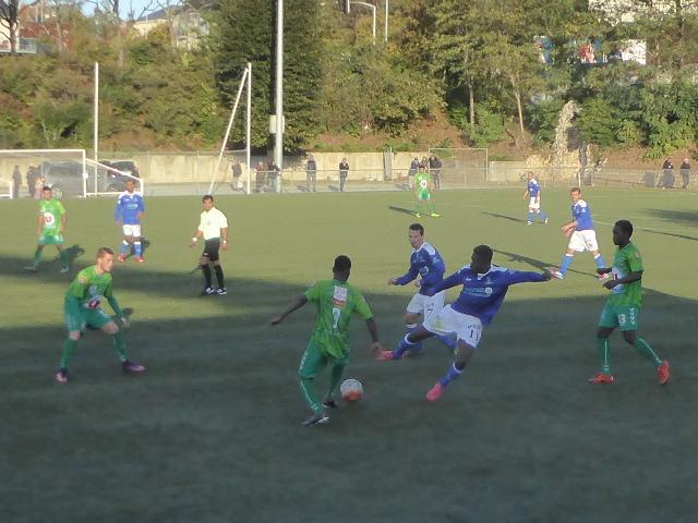 DSR (5e journée) : Grosse contre-performance d'Angers la Vaillante face à la Châtaigneraie (0-3).