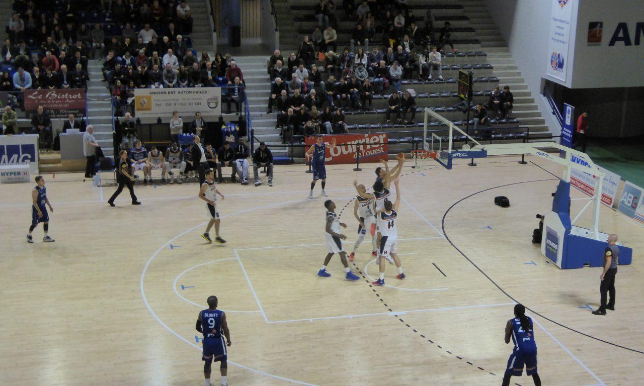 NM1 : Angers BC ne réalisera pas une septième victoire consécutive face à Quimper (67-82)