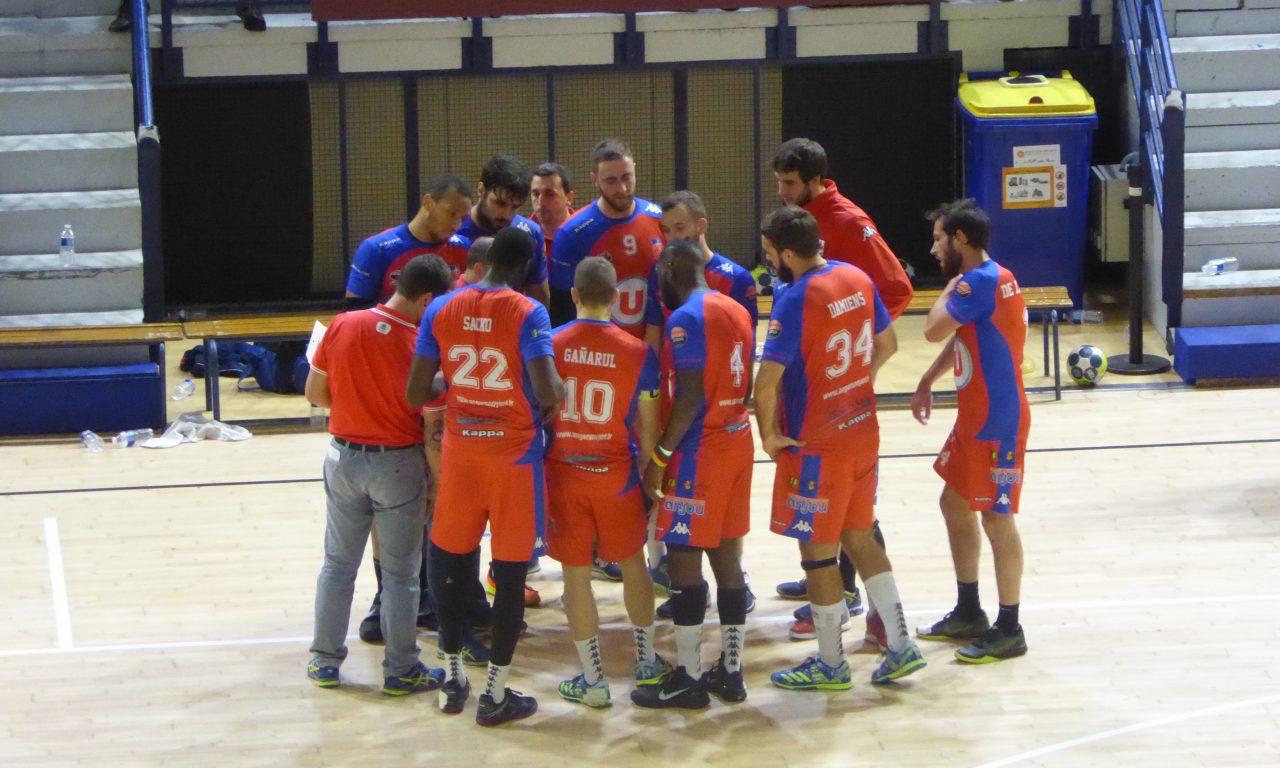 NM1 : Festival offensif d'Angers Noyant Handball face à l'US Ivry (42-26).