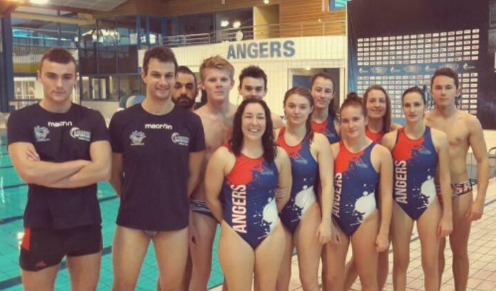 Résumé des résultats des équipes d'Angers Natation Water-polo.