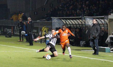 Ligue 1 (16e journée) : Revivez en photos le match entre Angers SCO et le FC Lorient (2-2).