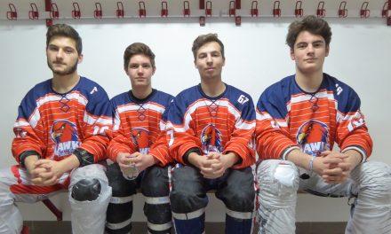 Reportage vidéo sur quatre Angevins, champions d'Europe Espoirs de roller-hockey.