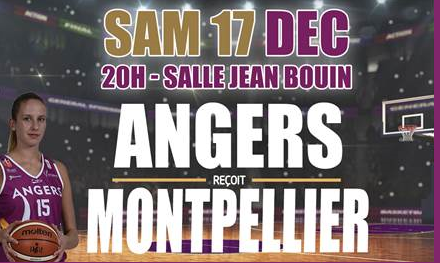 LFB (11e journée) : L'UFAB reçoit Montpellier, samedi soir à 20h00.