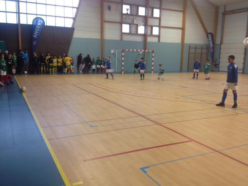 Résumé du tournoi en salle U11 et U13, organisé par le club du SC Doutre.