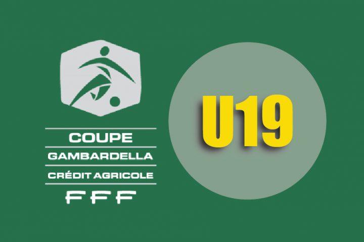 Tirage des 64e de finale de la Coupe Gambardalla (U19).