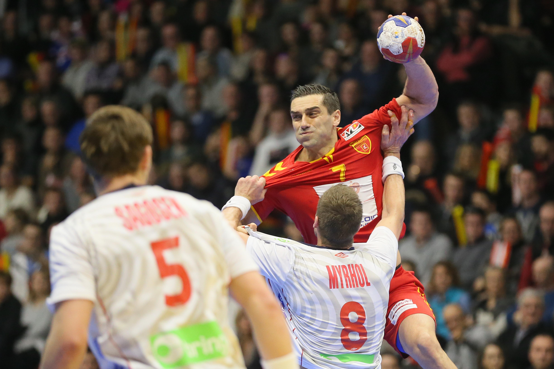 Kiril Lazarov s'est employé dans ce tournoi mais c'est fini pour lui et la Macédoine.