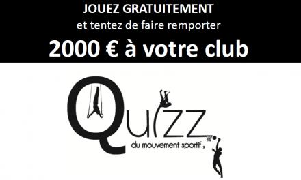 7ème année pour «le Quiz du Mouvement Sportif.»
