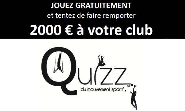 """7ème année pour """"le Quiz du Mouvement Sportif."""""""