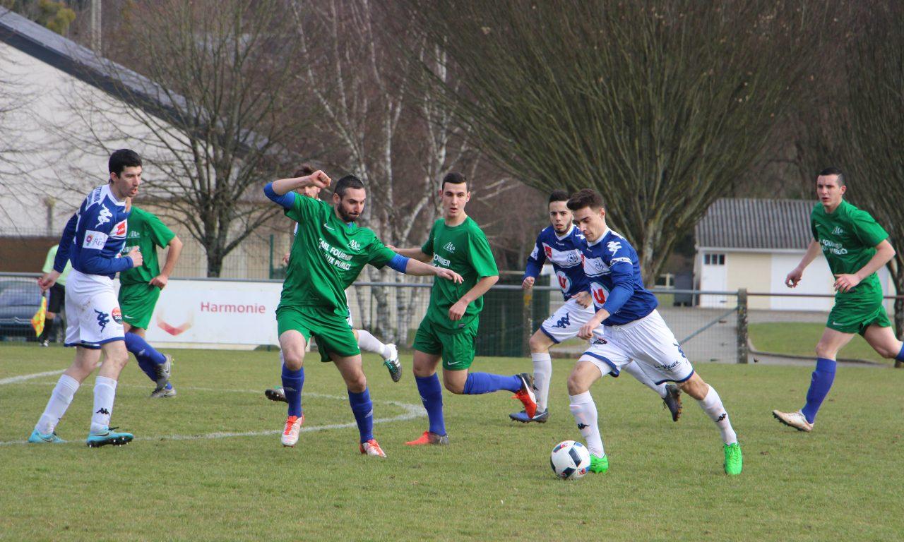 DRH (12e journée) : Angers NDC assure son maintien à Mareuil (2-0).