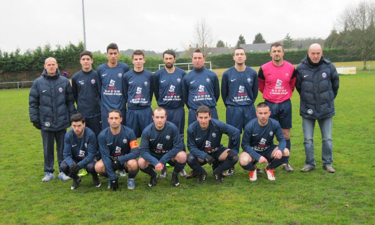 D2 (21e journée) : Avec ce match nul à Baugé, Saint-Sylvain obtient son maintien (1-1).