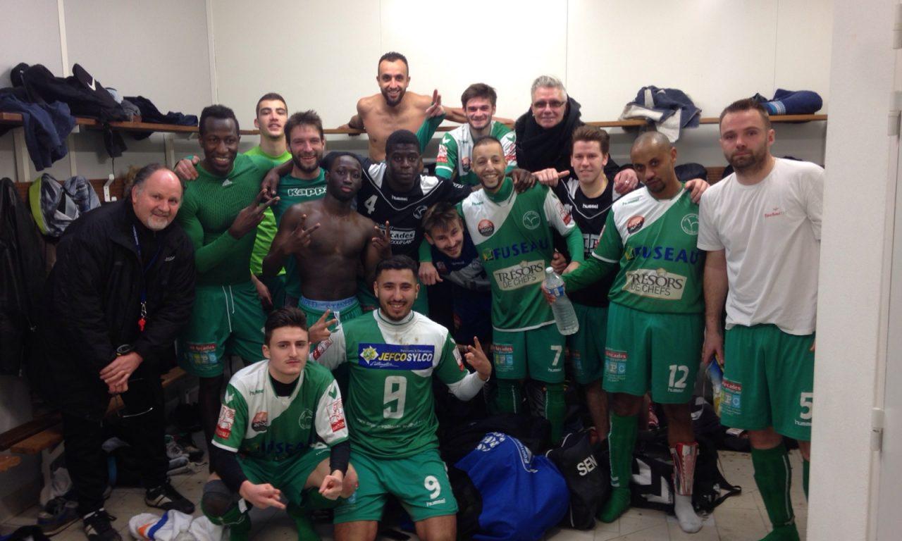 D2 (12e journée) : La Vaillante (b) enchaîne une quatrième victoire d'affilée à Nueil Haut Layon (2-0).