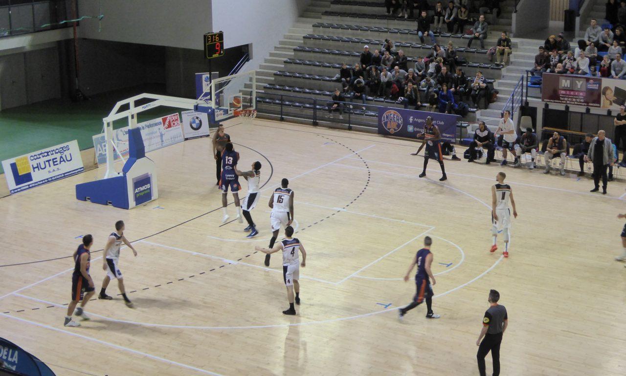 NM1 (18e journée) : Angers BC a effectué un non-match face à Chartres (65-90).